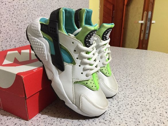 "ОРИГИНАЛНИ *** Nike Air Max Huarache ""Flash Lime"""