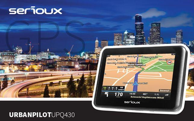 Livrare Gratis! GPS Nou Serioux 2020 Europa Garantie 3 ani Gamion TIR
