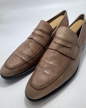 Pantofi barbati MIGLIORE penny lofers 43,5 28,5 cm piele pp3
