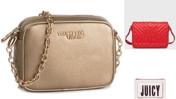 Juicy Couture Moschino Trussardi чанти