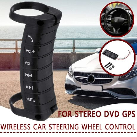 Comenzi volan wirless pentru navigatie auto Android si Mp5 DVD Radio