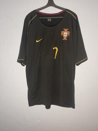 Игровая футбольная майка сборной Португалии чемпионата мира 2006 Nike
