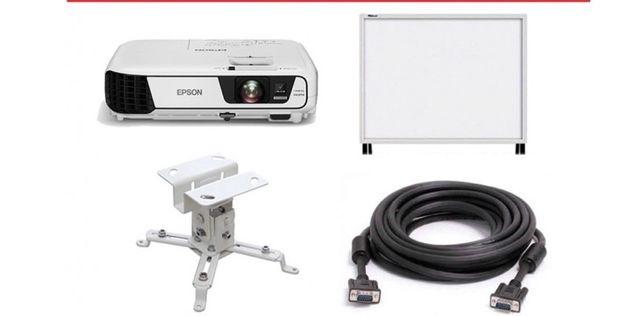 Установка проектор и интерактивные доски