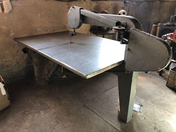 Банциг за текстил , машина за рязане на плат
