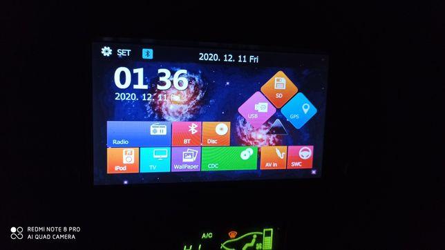 Navigație GPS multimedia 6,2 inch