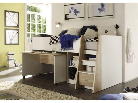 Легло с матрак и бюро