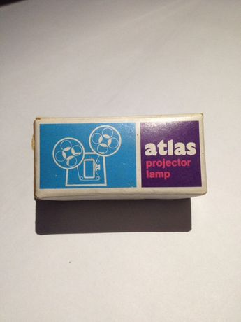 Lampa Proiector Film Vintage ATLAS 24V/250W in cutia originala Bec