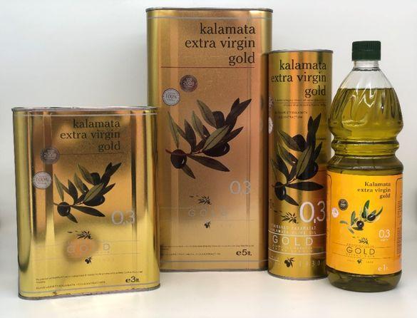 Гръцки зехтин Каламата Голд - екстра върджин, върджин, помаче, маслини