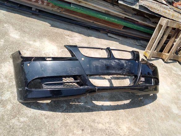 Предна броня БМВ/BMW E90 Black sapphire