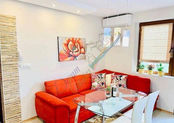 Луксозно обзаведен двустаен апартамент в Центъра