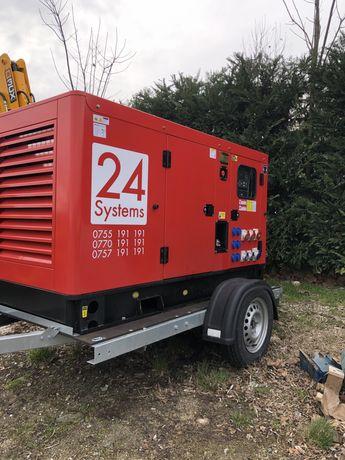 Inchiriez generator(grup electrogen) 380V/220V(400V/230V)