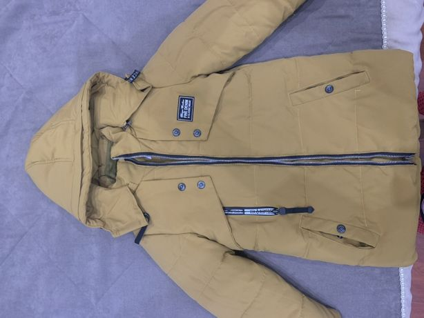Куртка зимняя на мальчика рост 122