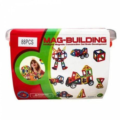 MAG-BUILDING Магнитный конструктор 88 деталей