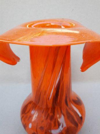 Vază din sticlă Vitralii