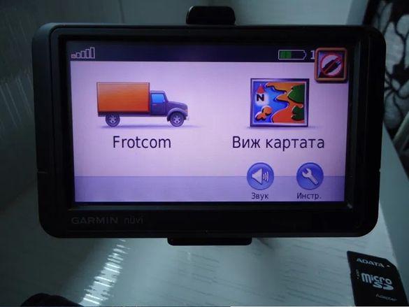 Gps Garmin 465 за Tir - камион - лека кола с Фротком с трафик приемни