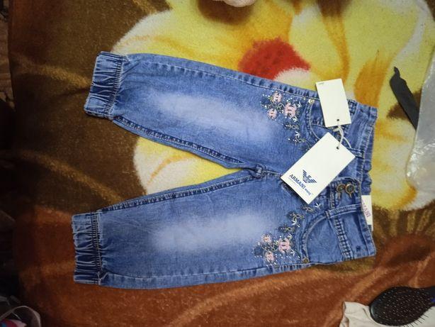 Продам новые летние джинсы