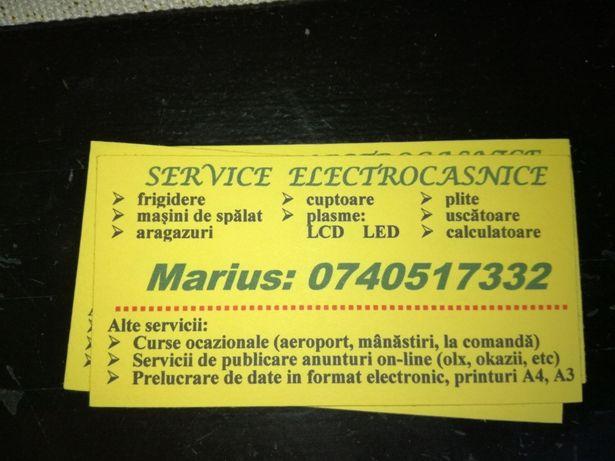 Reparatii electrocasnice