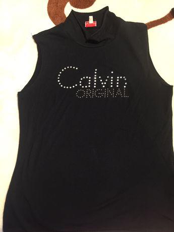 Tricouri copii fete Calvin Klein si Trussardi marime L