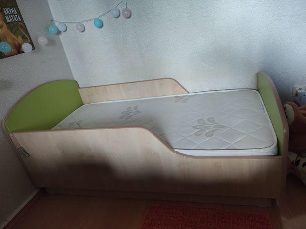 Детская кроватка с двух сторонним матрасом Askona