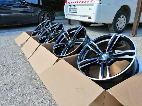 Джанти бмв Style 433 17'' цола 5х120 BMW M437 E60,Е87,E90,F30 F10 нови