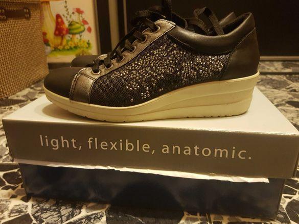 IMAC - Италиански анатомични, ежедневни обувки- изцяло естествена кожа