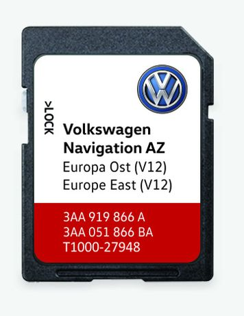 Harti GPS Volkswagen RNS 315 V12 2021 Tiguan Passat Skoda Amundsen Sea