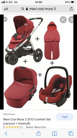Maxi Cosi Mura3 детска количка