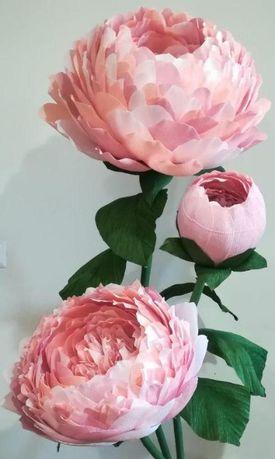 Flori decor-Bujori gigant