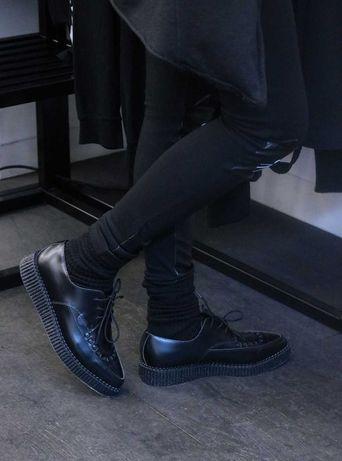 Pantofi Underground,brand lux,piele naturala,41,noi,nu zara,hm,dutti