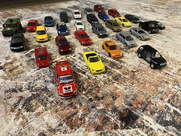 Коллекция моделей авто