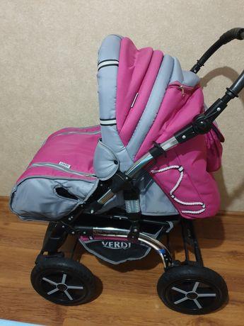 Продам коляску всесезонную с сумкой-переноской