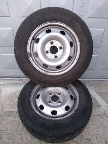 Продавам летни гуми с джанти Westlake 165/70 R13