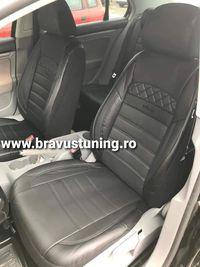 Huse scaun auto Piele Ecologica Skoda,Opel, Duster,Ford, Passat,Golf,