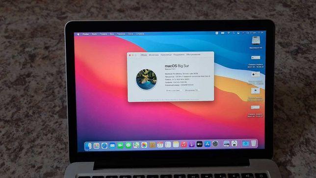 MacBook Pro Retina I5 2,6 ГГц Turbo Boost до 3,1 ГГц ОЗУ 8Gb SSD 512Gb