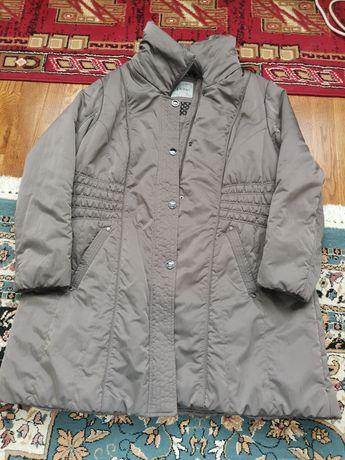 Palton gri matlasat de primăvară - toamnă - mărimea 48-50