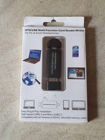 Micro USB OTG USB Adapter SD Micro SD Card Reader Cititor de carduri