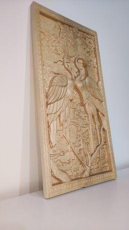 Sculpturã in lemn | Pãsãri de baltã |