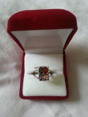 Кольцо серебряный 925