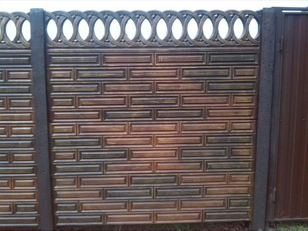 Gard/placi din beton armat prefabricat Teleorman