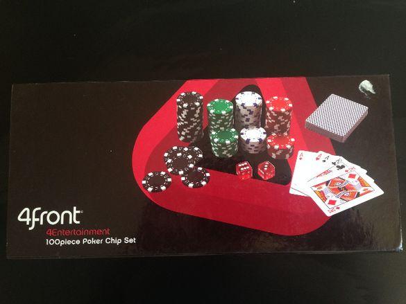 к-т покер 100 чипа