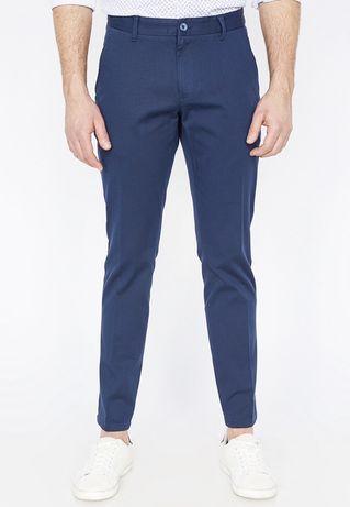NOU - Pantaloni bărbătești slim fit - KOTON (bleumarin)