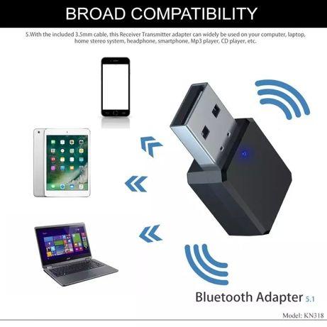 Adaptor bluetooth pentru mașină/ boxe normale, USB/ Jack