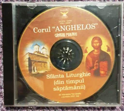 CD Corul Anghelos, cantari psaltice, sfanta liturghie
