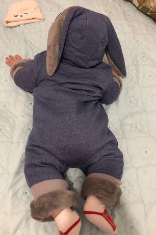 Комбинезон зайчик (девочка, мальчик)