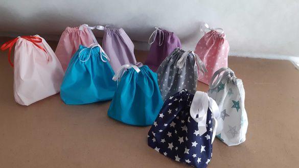 Текстилни памучни торбички
