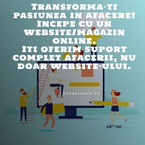 Creare Website/Magazin Online, Promovare, Coaching Gratuit