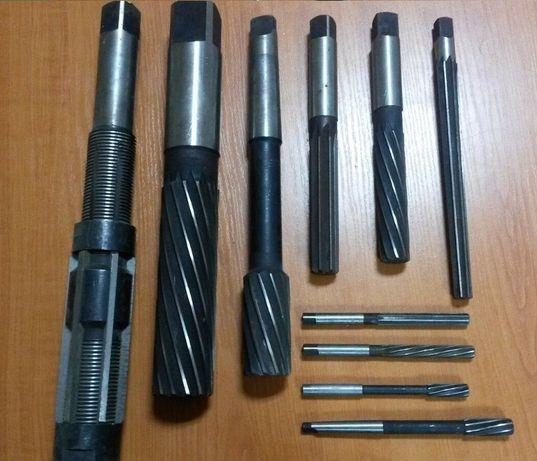 Alezoare cilindrice si conice DIN 206 STAS 1263, de la fi 2 la fi 32 m