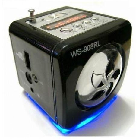 Radio MP3 Player Portabil Cu Afisaj si slot card SD