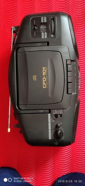 Radio CD & casetofon