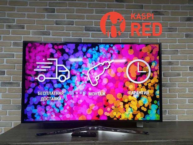 Тв Samsung 127см UE50KU6000 4K UHD Рассрочка KASPI RED! Гарантия год!